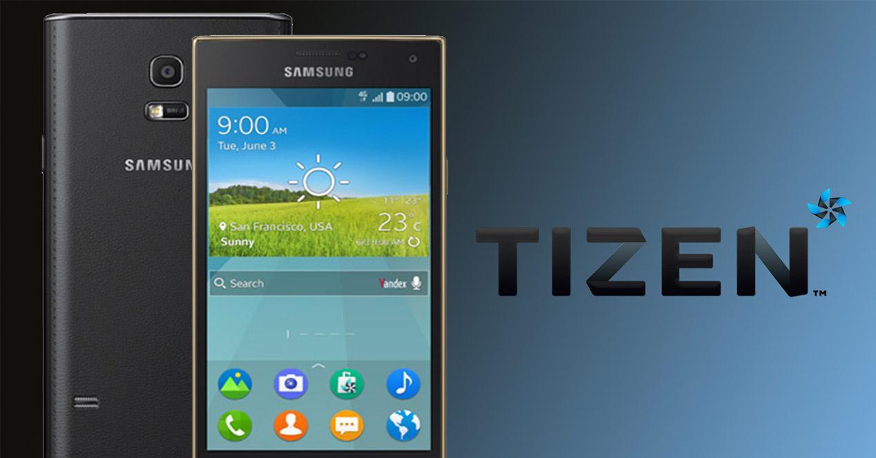 Smartphone Samsung con Tizen
