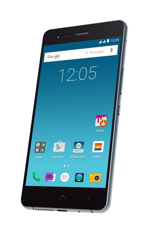 bq X5 Cyanogen detalle de la pantalla