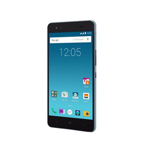 bq X5 Cyanogen negro vista lateral