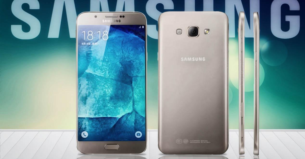 Samsung Galaxy A9 concepto