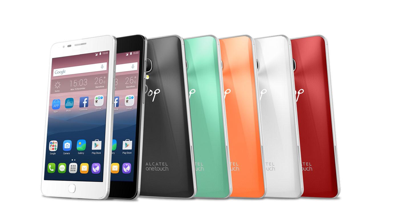 Alcatel Onetouch Pop Up colores