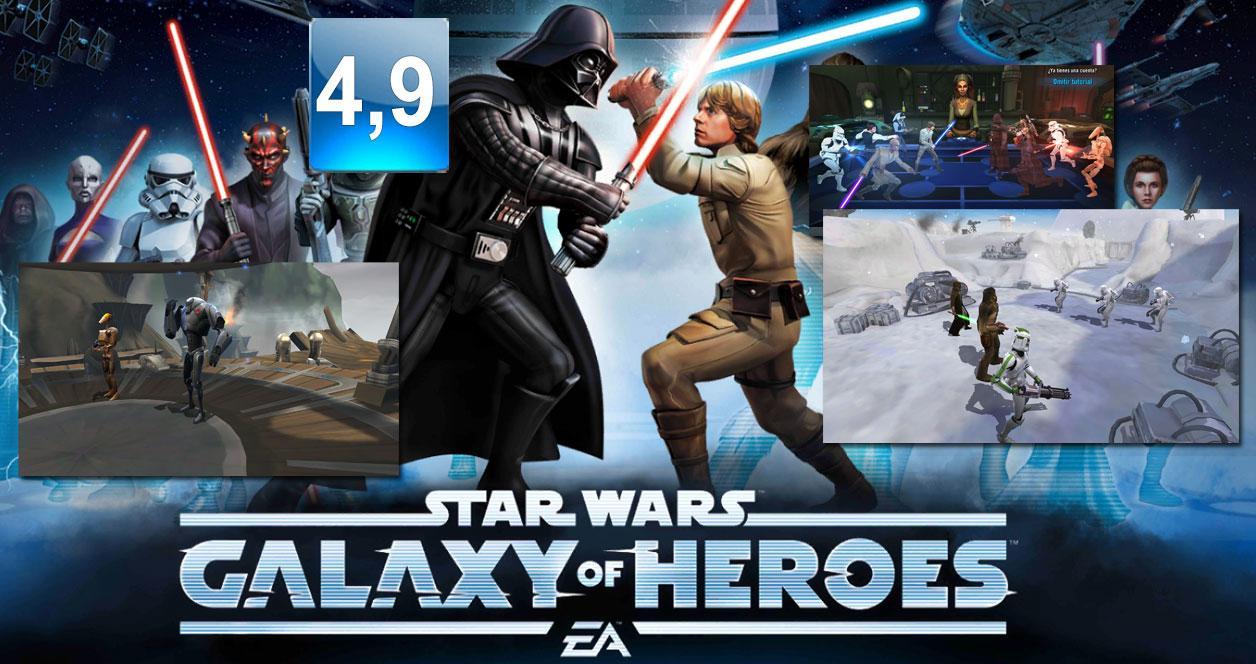 Juego Star Wars: Galaxy of Heroes