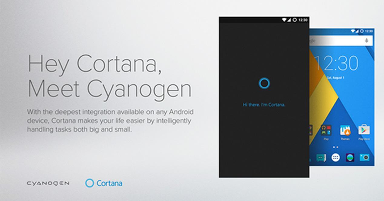 Cortana en CyanogenMod