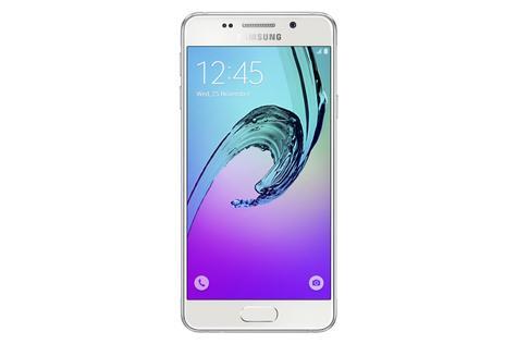 Samsung Galaxy A3 2016 frontal blanco