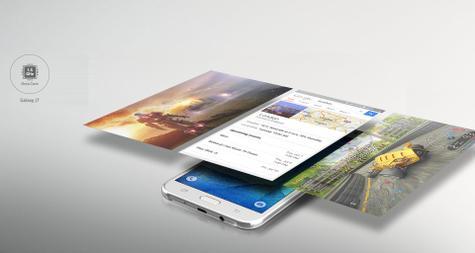 Samsung Galaxy J7 detalles de pantalla