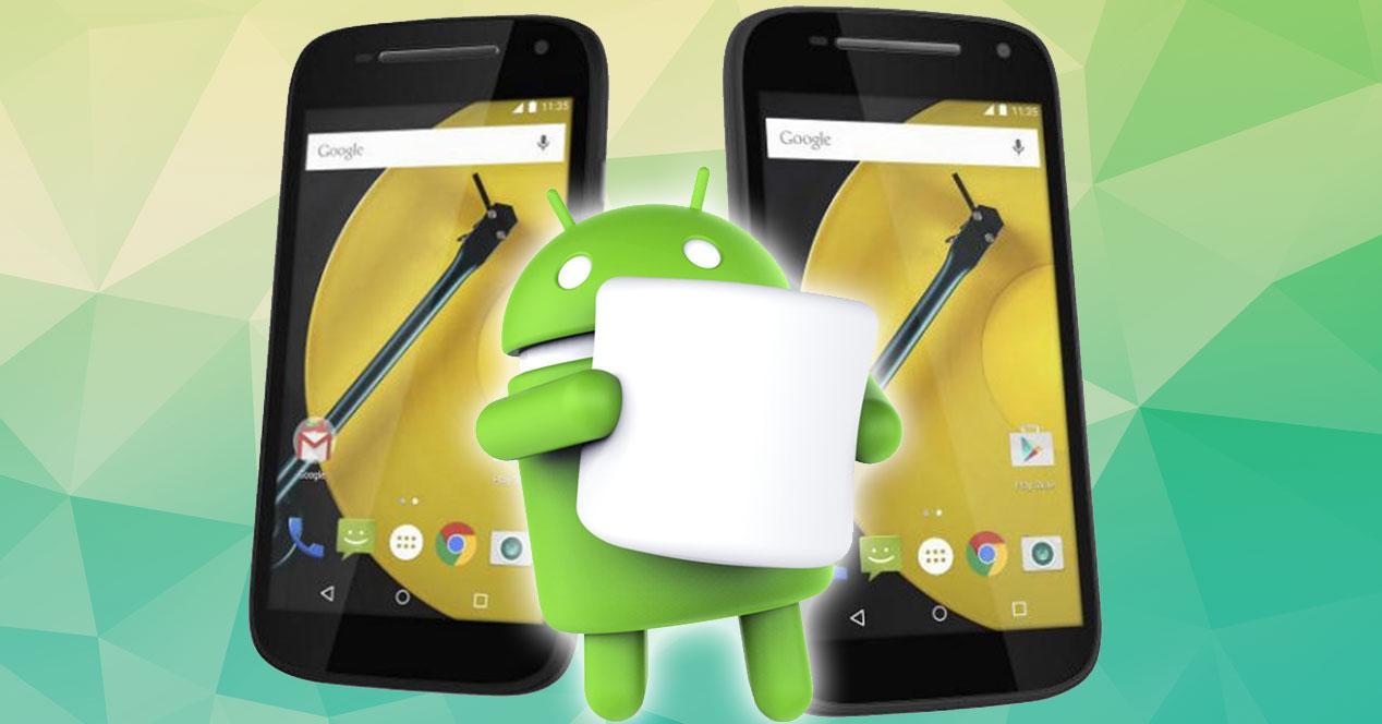 Motorola Moto E con Android Marshmallow