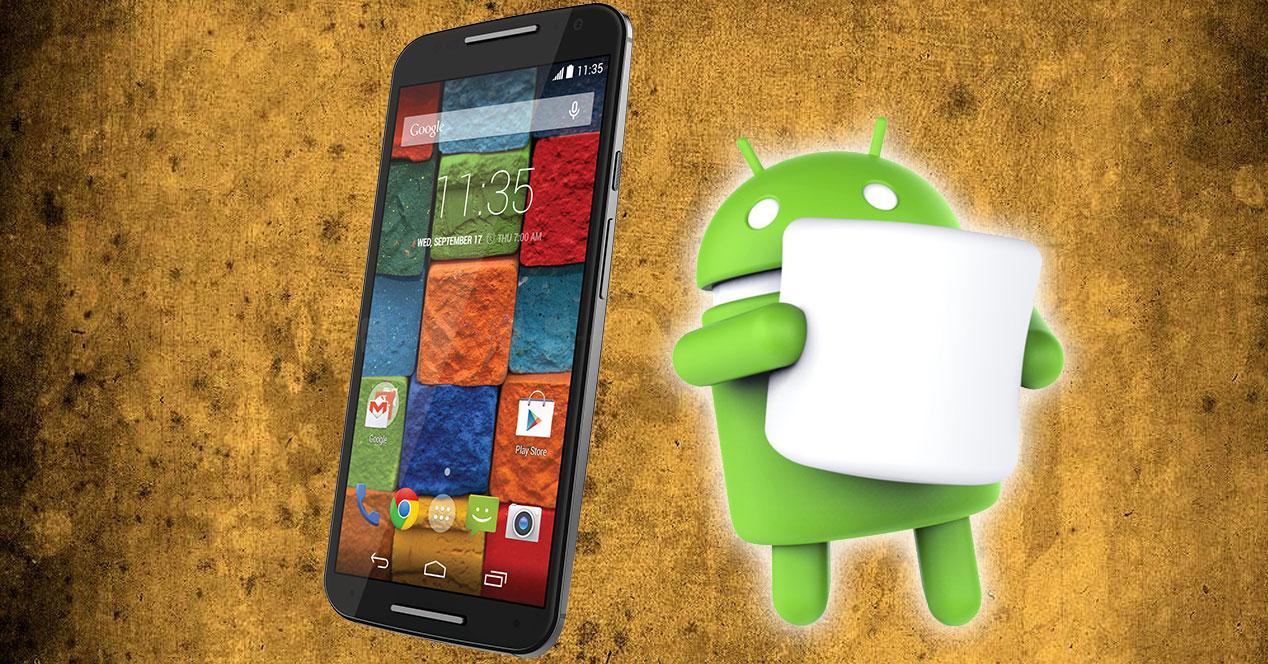 Motorola Moto X con Android Marshmallow