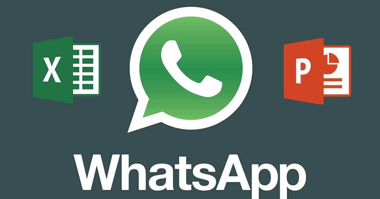 WhatsApp excel powerpoint