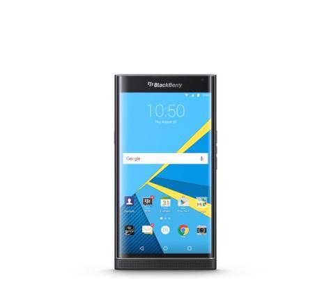 BlackBerry Priv negro frontal