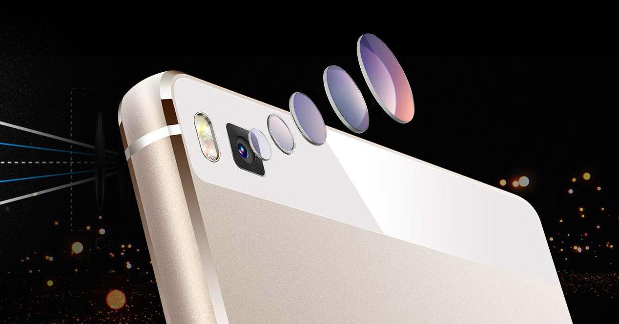 Huawei P8 Lentes