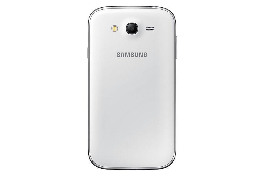 Samsung Galaxy Grand Neo Plus blanco vista trasera de la cámara