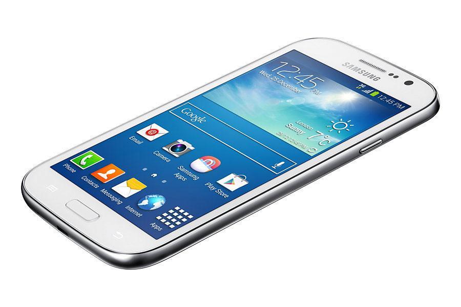 Samsung Galaxy Grand Neo Plus en color blanco