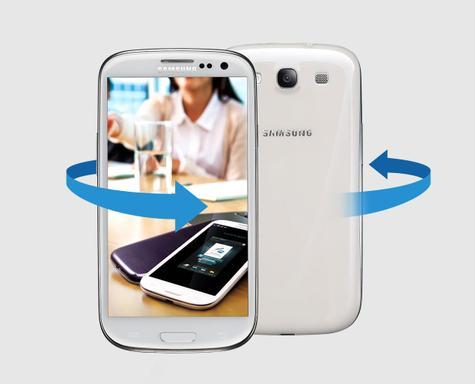 Samsung Galaxy S3 Neo en color blanco