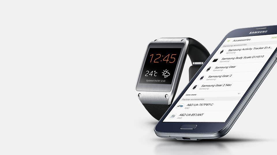 Samsung Galaxy S5 Neo con Gear