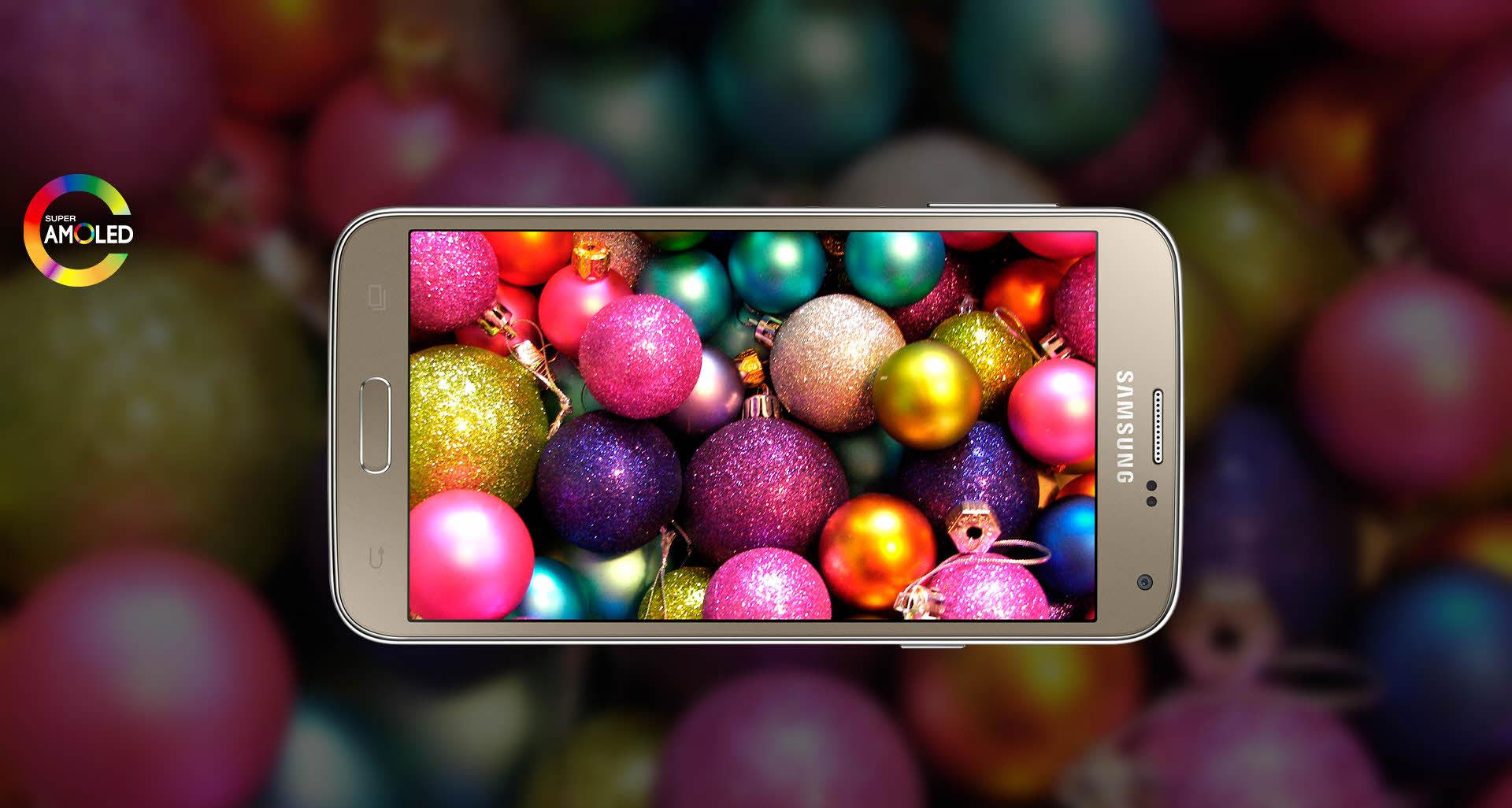 Samsung Galaxy S5 Neo en color oro
