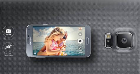 Samsung Galaxy S5 Neo detalles de cámara