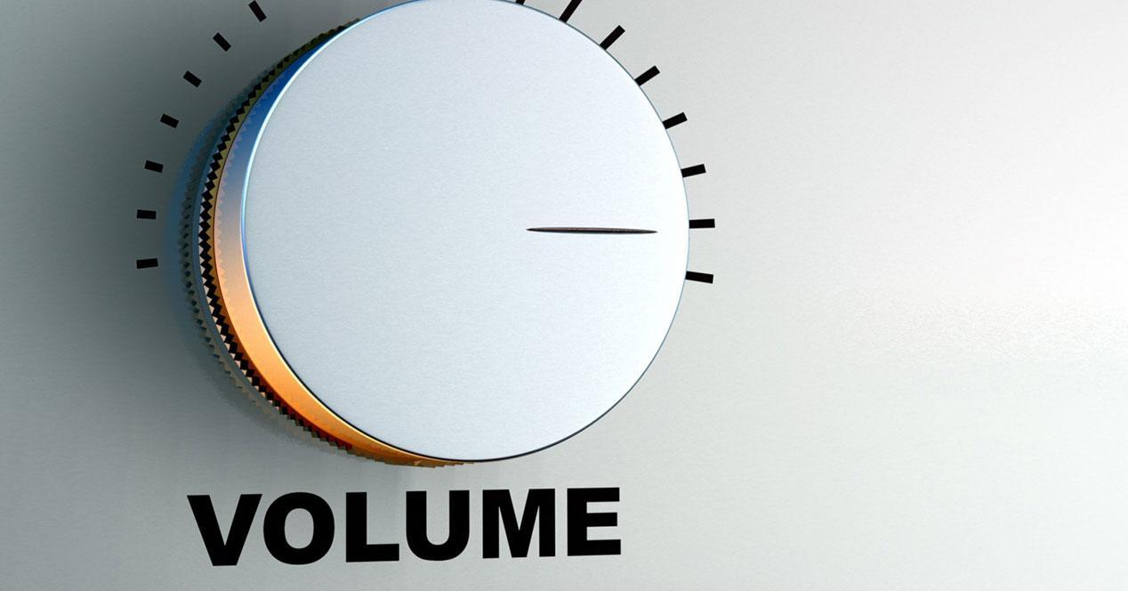 botón volumen