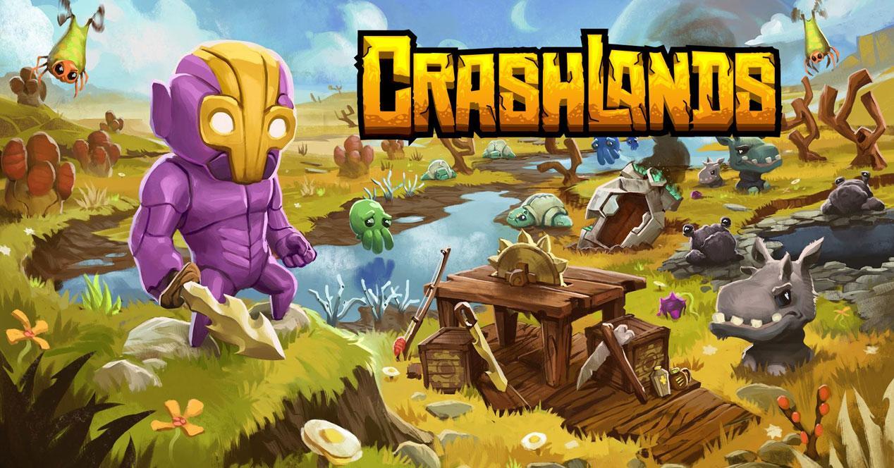 Crahslands logo