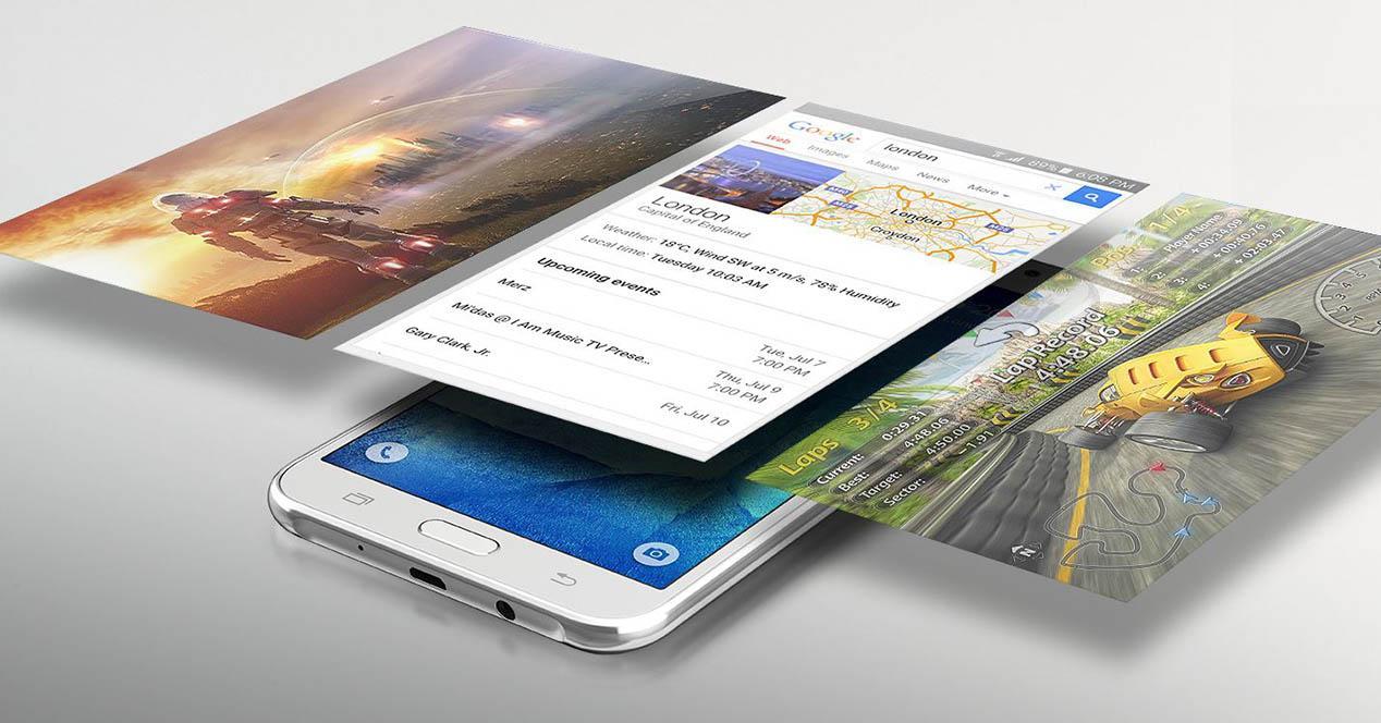 Samsung Galaxy J5 portada