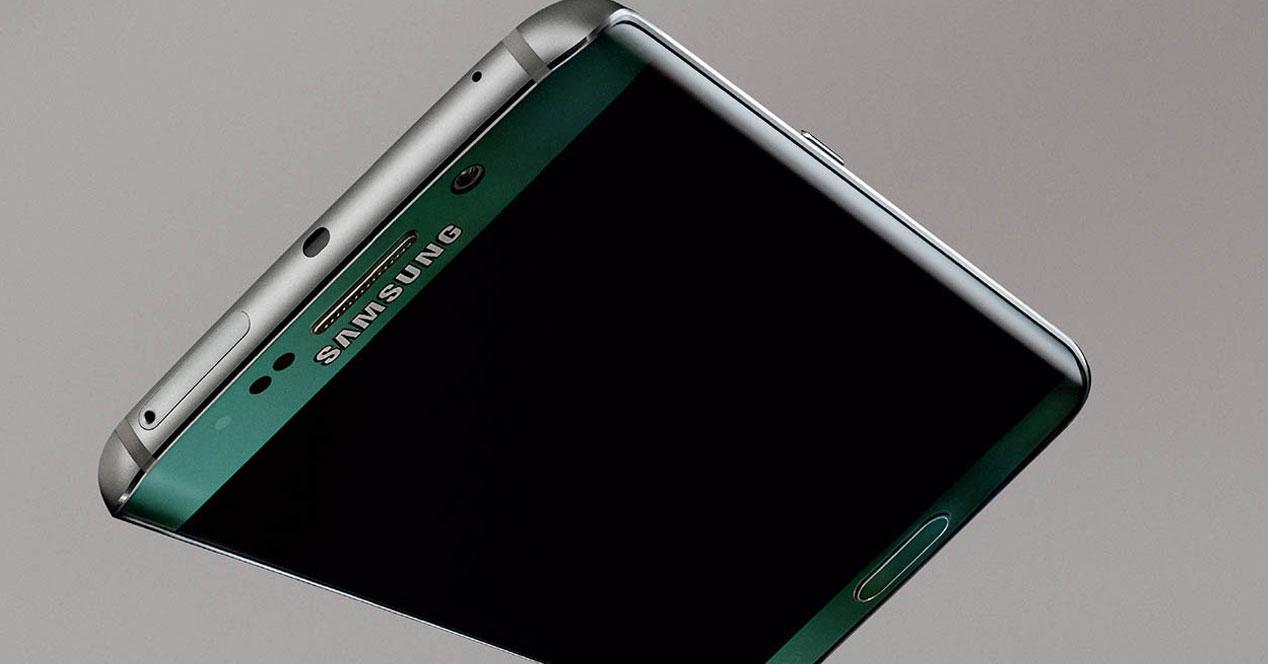 Samsung Galaxy S6 edge verde
