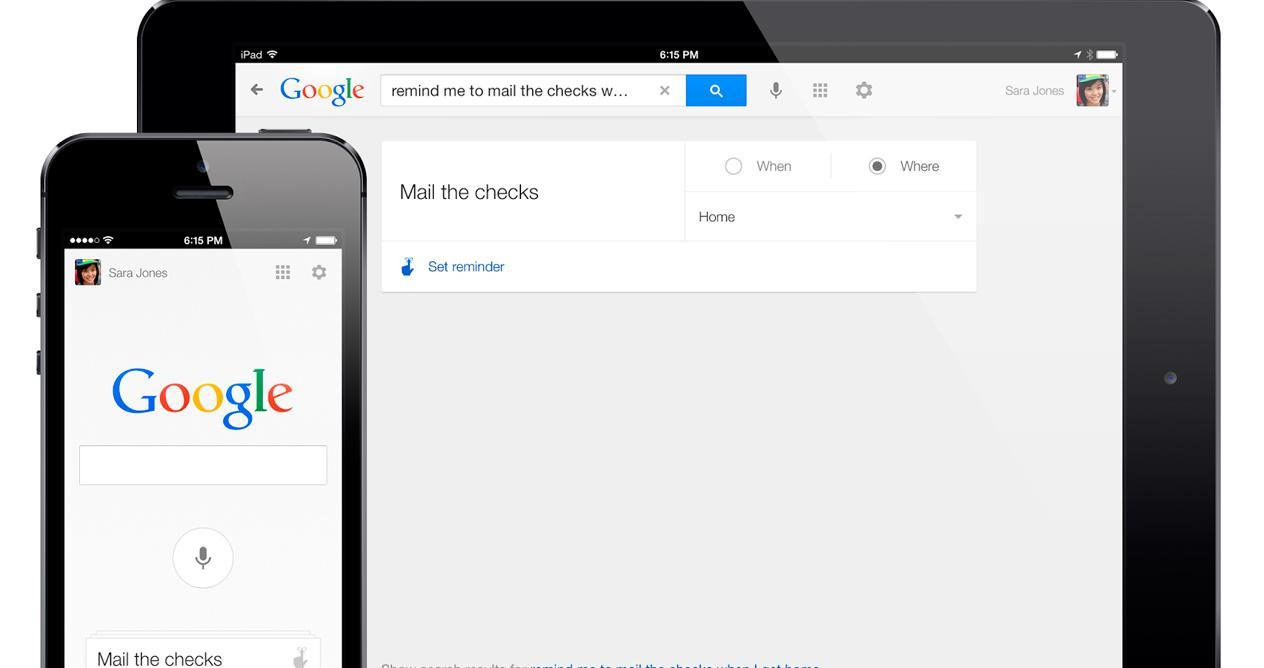 Google search en iOS