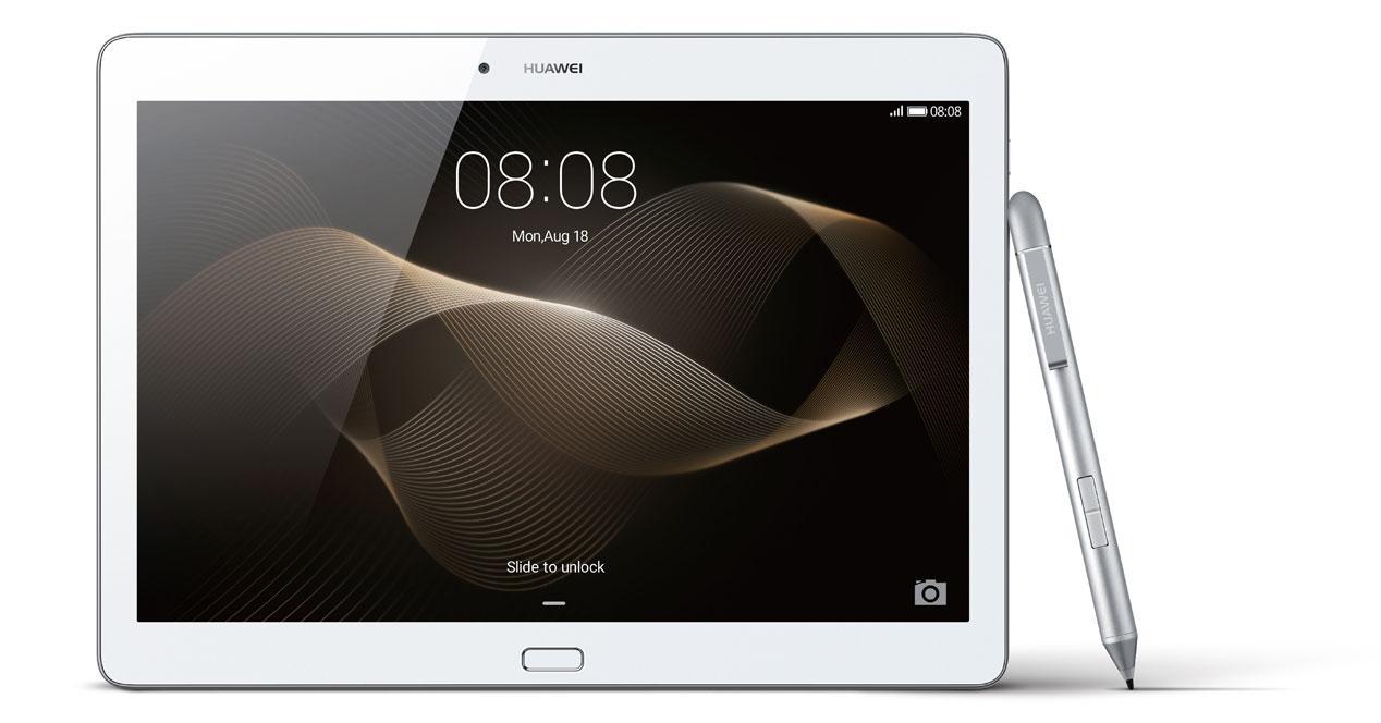 Huawei tablet con puntero