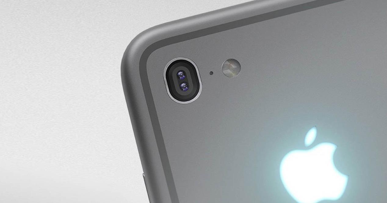 iPhone 7 con dos cámaras traseras