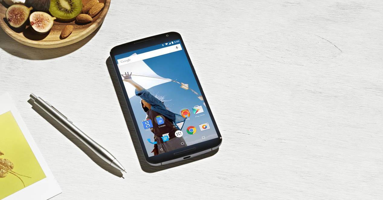 Nexus 6 camara
