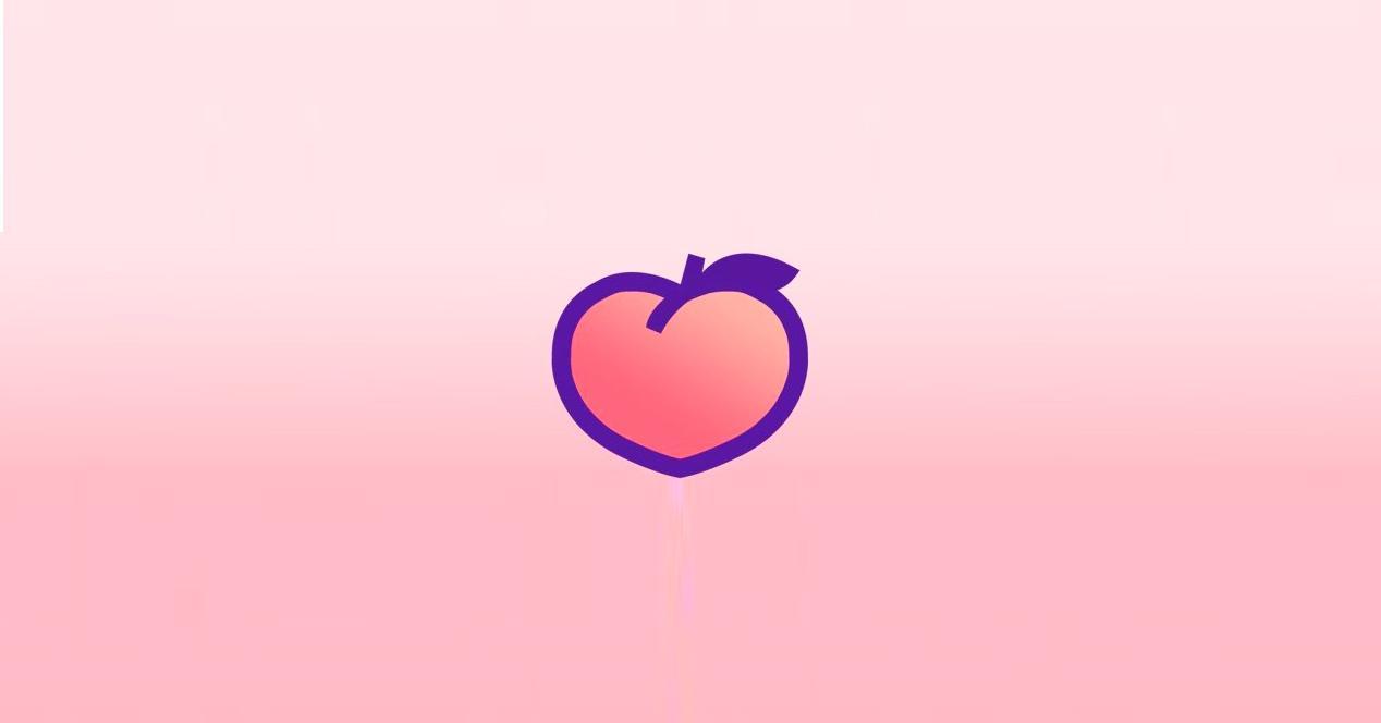 Red social Peach