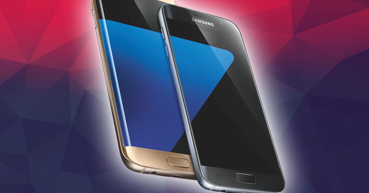 Samsung Galaxy S7 y S7 Edgerender