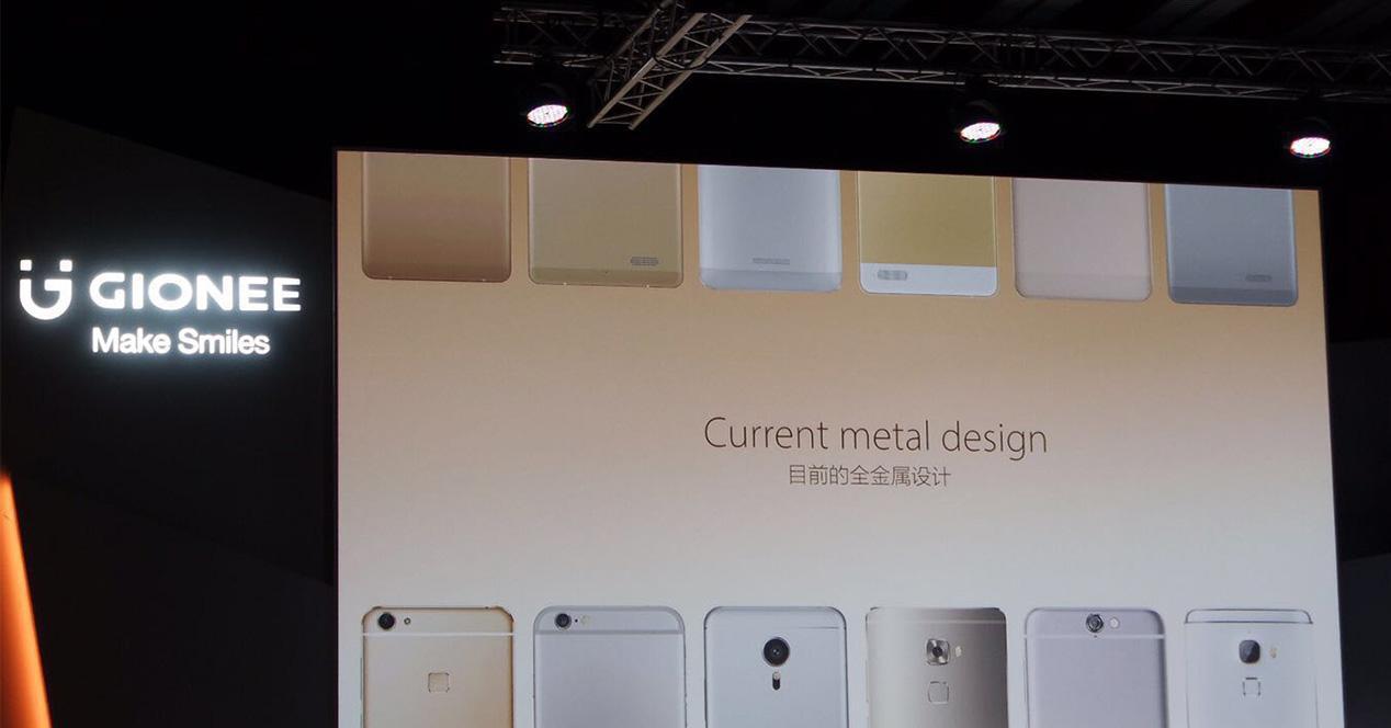 Presentación del Gionee S8
