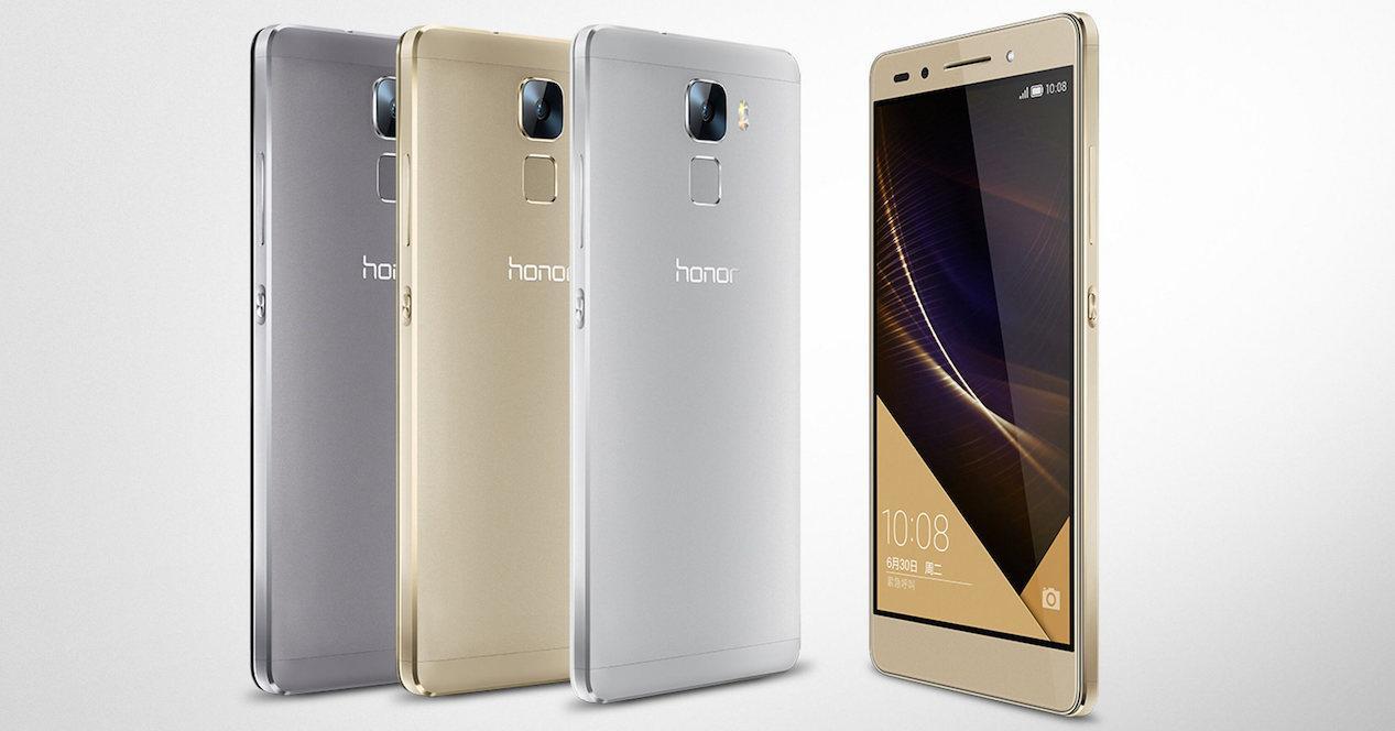 Honor 7 en distintos colores