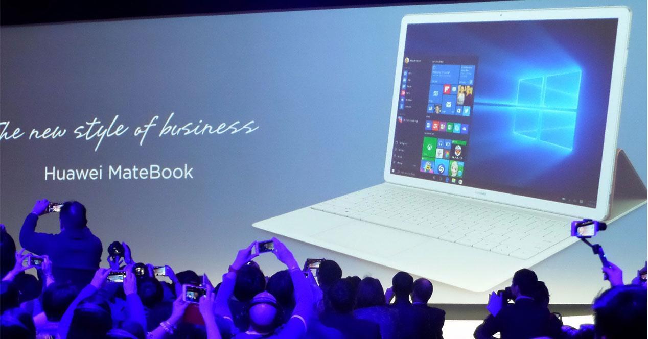 Presentación del Huawei MateBook