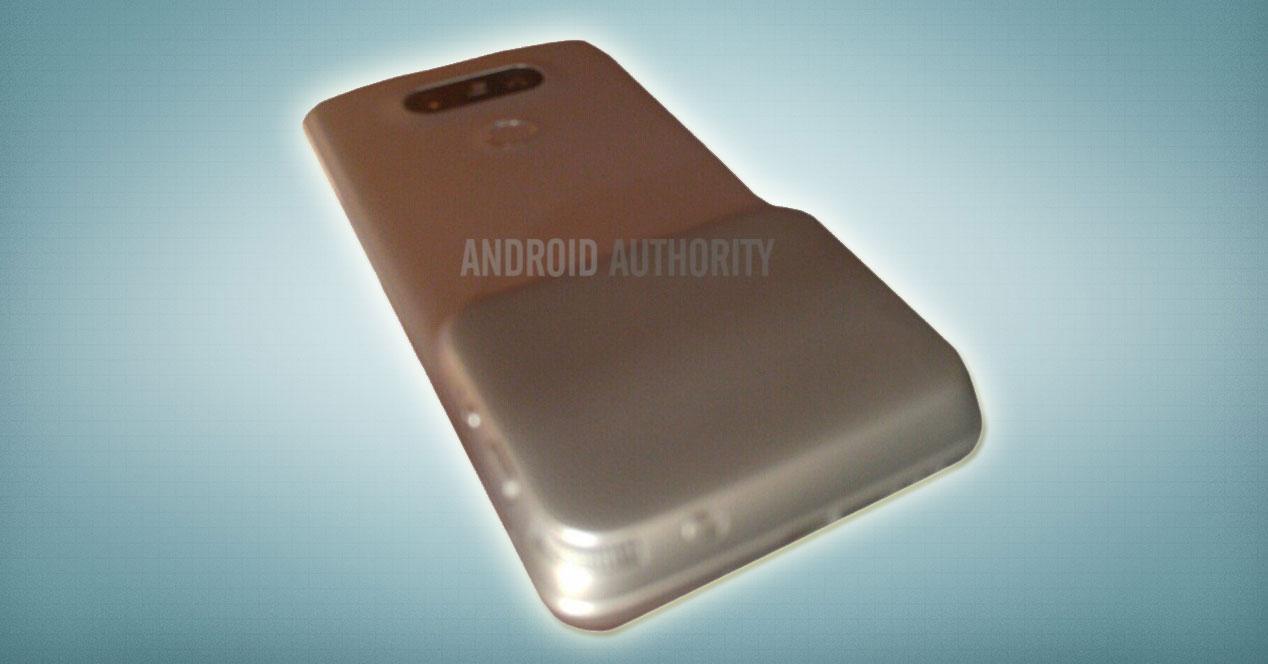 LG G5 con el magic slot