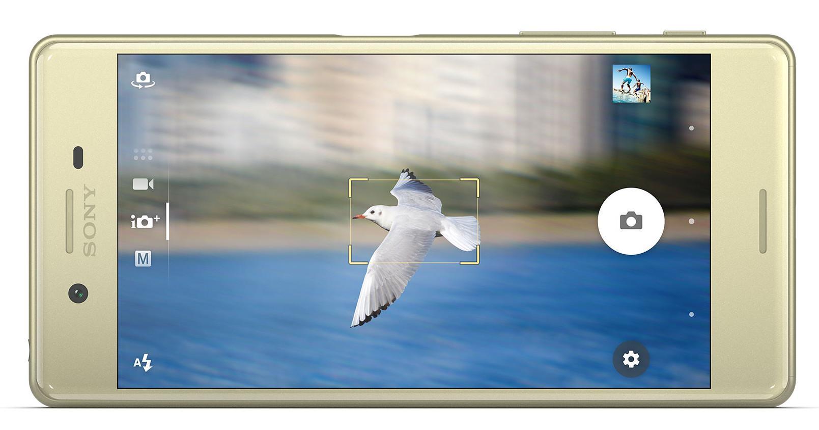 Sony Xperia X detalle de la cámara