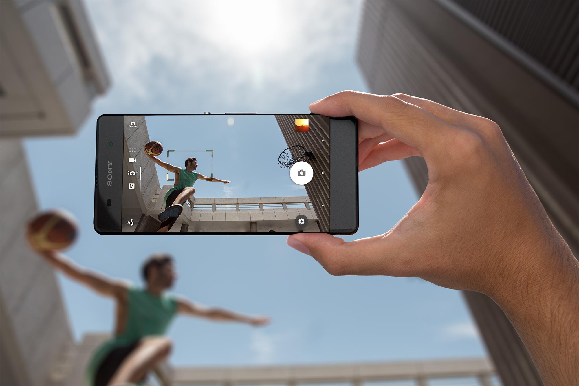 Sony Xperia XA cámara de fotos