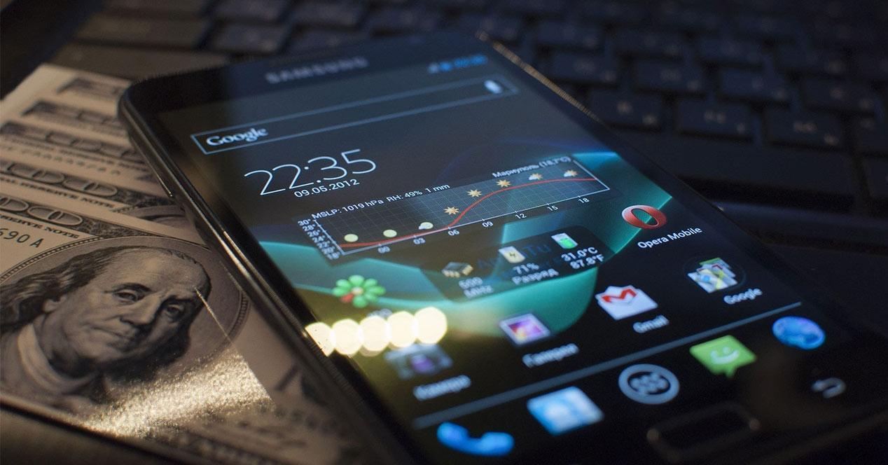 Samsung Galaxy S2 con CyanogenMod