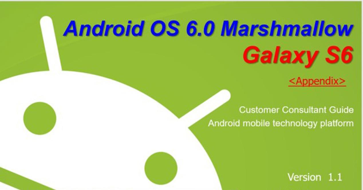 Guía para el Samsung Galaxy S6 con Android 6.0 Marshmallow