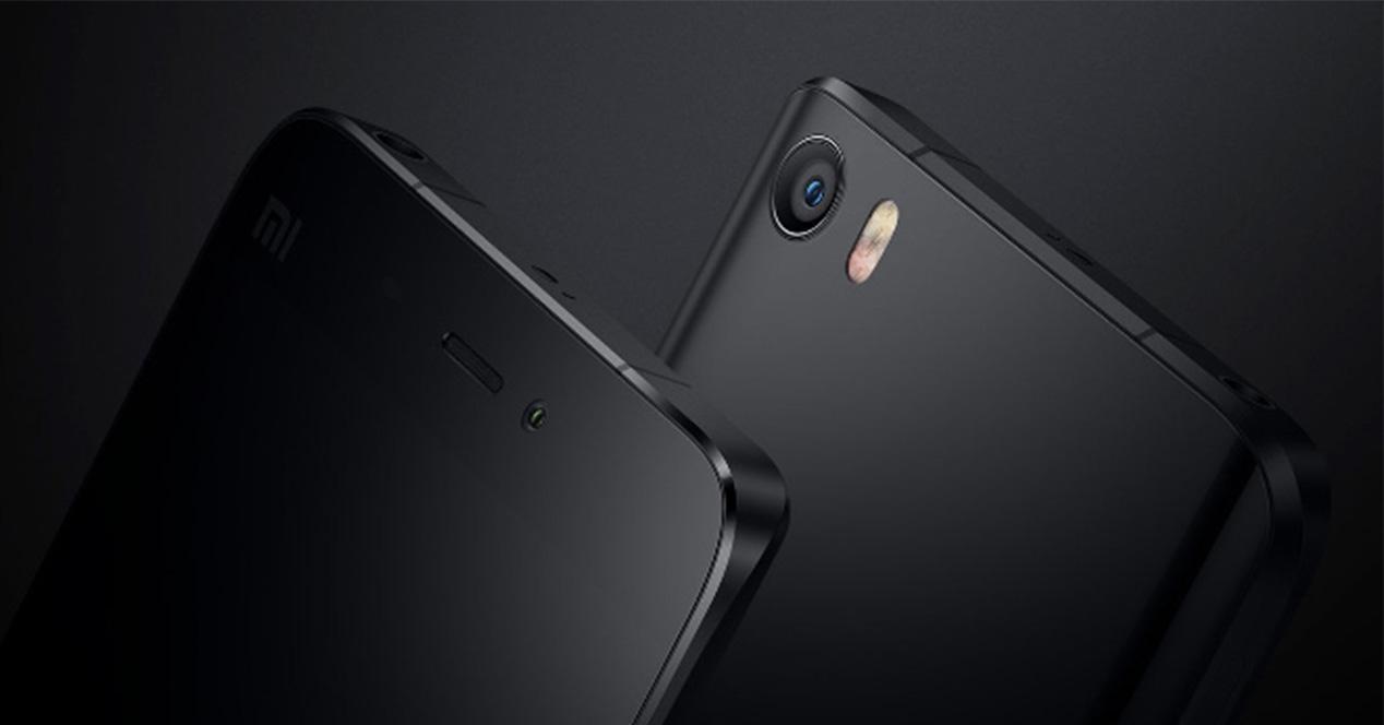 Carcasa del Xiaomi Mi5