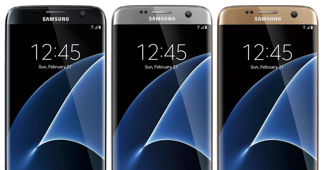 Samsung Galaxy S7 edge renders