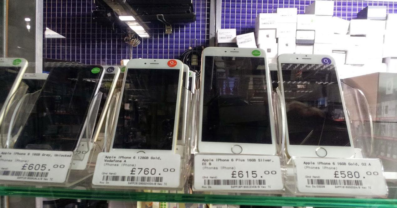 varios iPhone 6 en venta en segunda mano