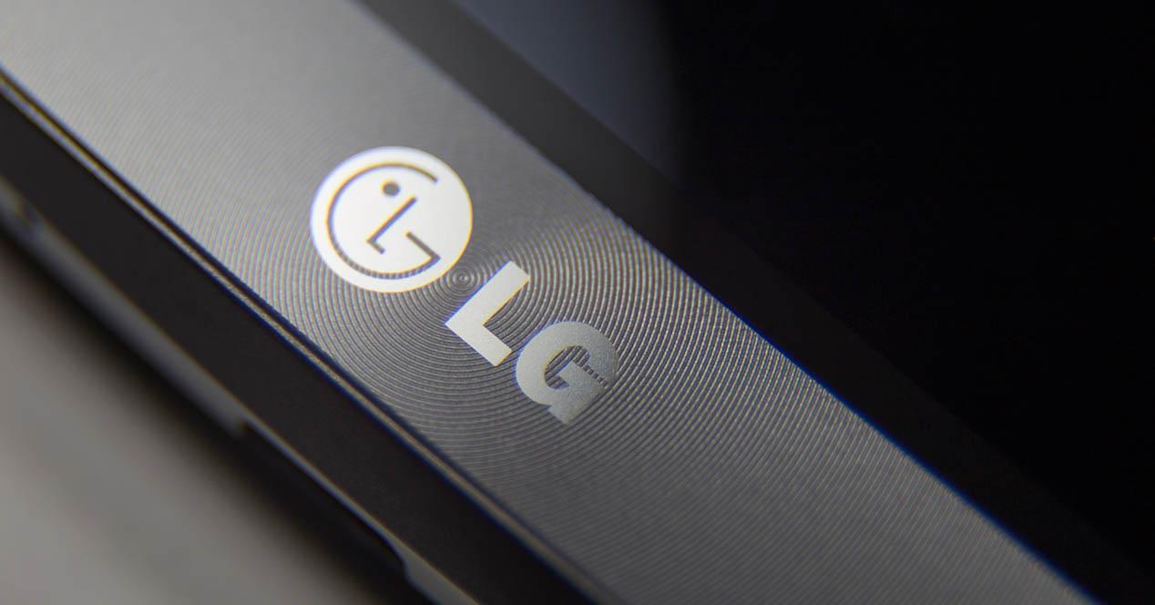 LG G5 logo en frontal