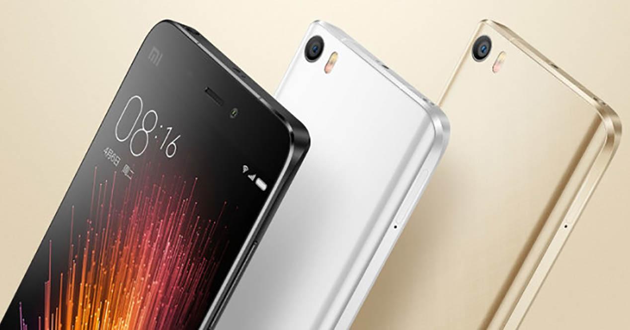Xiaomi Mi5 gama de colores