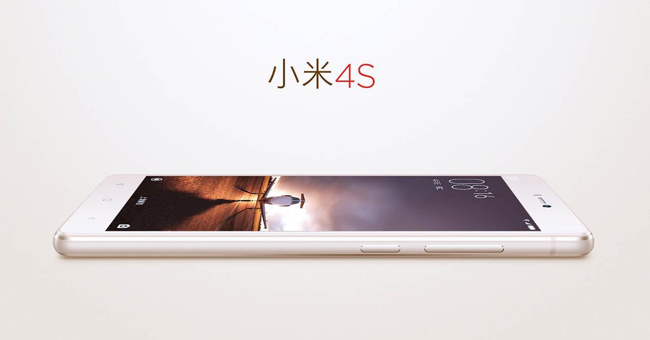 Xiaomi Mi 4S vista lateral