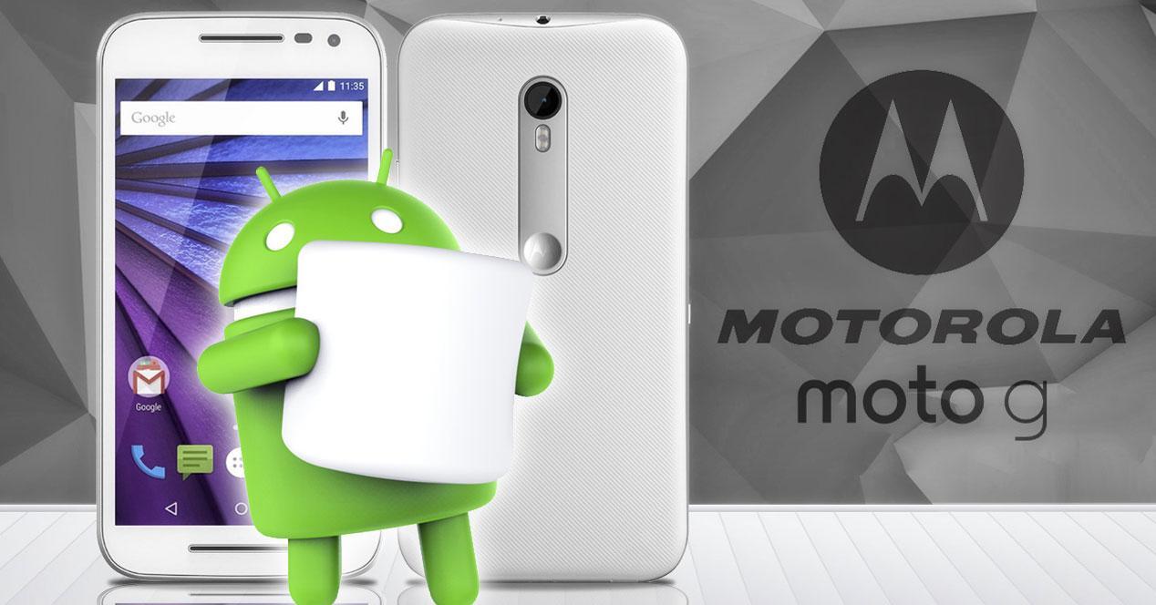 Motorola Moto G 2015 marshmallow