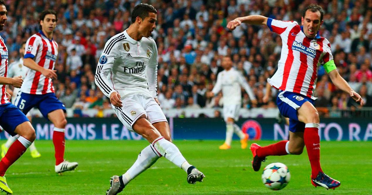 Derby entre el Real Madrid y el Atlético de Madrid