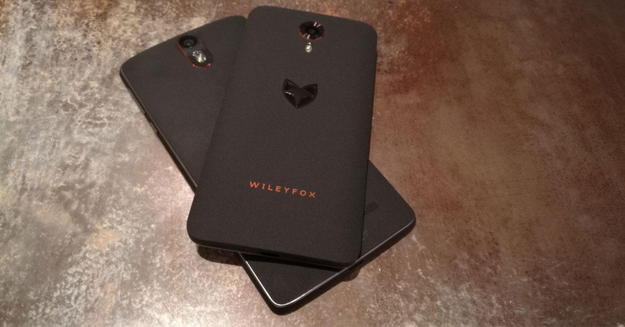 Wileyfox Storm y Swift uno sobre otro