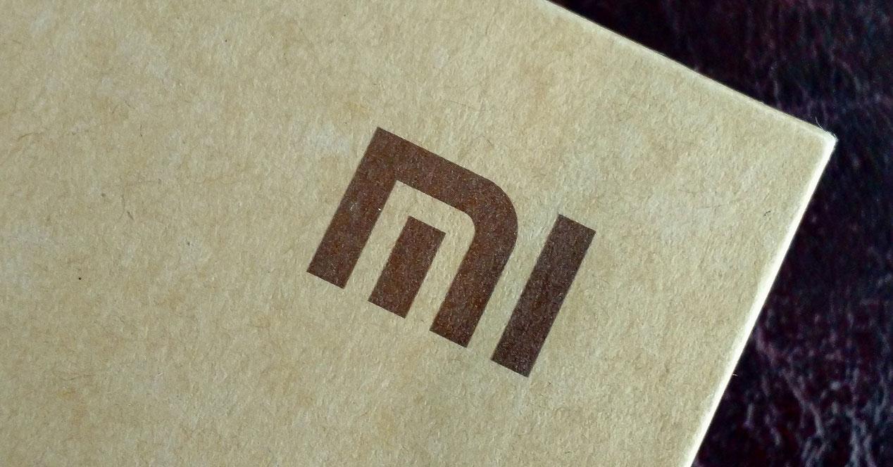 Xiaomi caja con logo