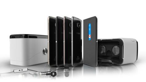 Alcatel Idol 4 gama de modelos y gafas de realidad virtual