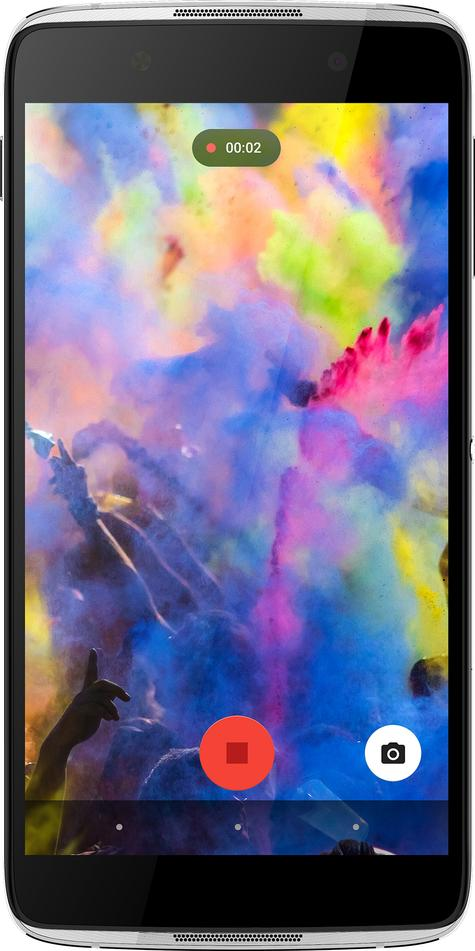 Alcatel Idol 4 pantalla de colores